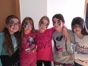 face painting phs studio tobi zabava